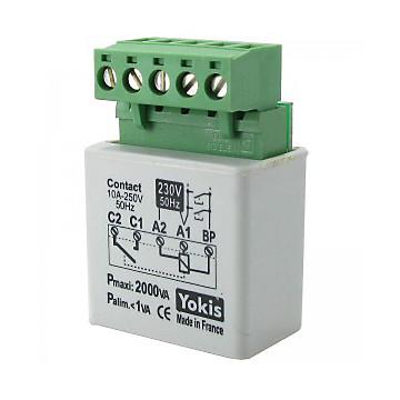 Récepteur micromodule éclairage Yokis