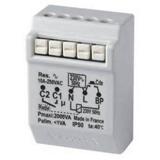 Télérupteur encastré pour éclairage avec micromodule RADIO - Gamme POWER