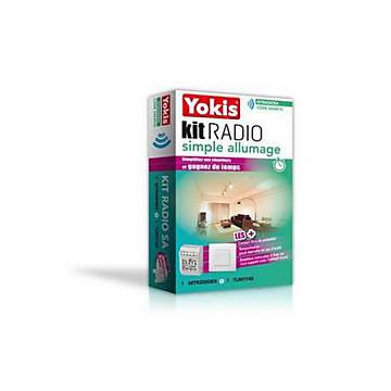 Prêt à poser radio simple allumage Yokis