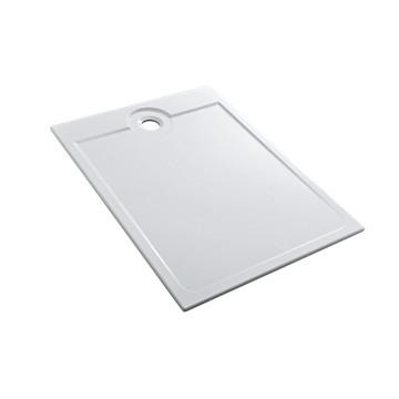 Receveur Latitude extra-plat rectangulaire antigliss à encastrer ALLIA