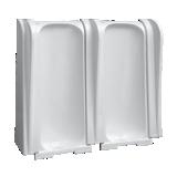 Stalle d'urinoir composable au sol Montceau