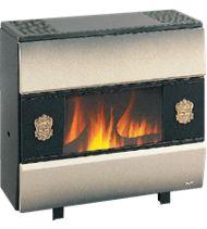 Radiateur F109 à gaz 9 kW coloris nuage évacuation cheminée