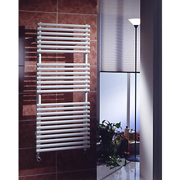 Sèche-serviettes eau chaude tubes ronds MB Expert