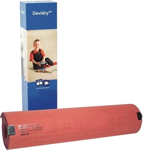 Tapis chauffant Devidry 100 Danfoss