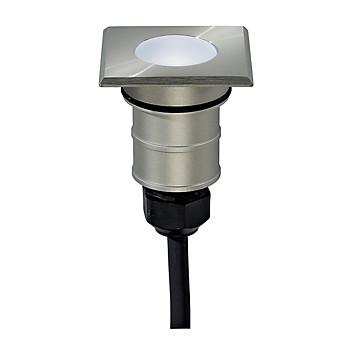 Encastré de sol LED extérieur Power Tail-Lite Slv