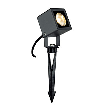 Nautilus piquet square LED anthracite Slv