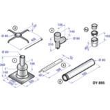 Kit de raccordement -  Colis DY895