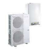 Pompe à chaleur Alezio évolution AWHP/H-E. : chauffage et rafraîchissement