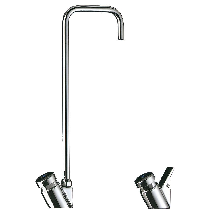 Robinet col de cygne pour fontaine d'eau référence 311TR1 Delabie