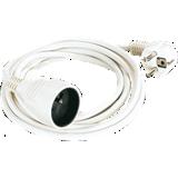 Cordon prolongateur blanc
