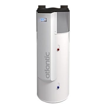 Chauffe-eau thermodynamique AERAULIX 3 VMC 200 L Atlantic