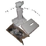 Pied support pour radiateur vertical T20 T21 T22