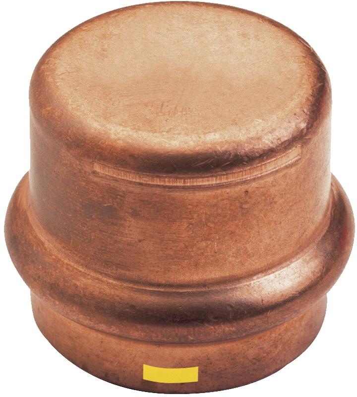 Bouchon cuivre à sertir gaz femelle IBP