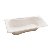 Baignoire rectangulaire acrylique avec accoudoirs Transat