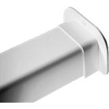 Passage de mur pour goulotte