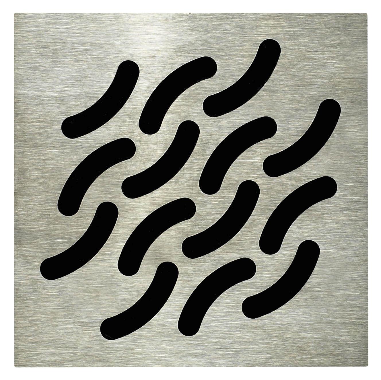 Grille carrée design Wave Lazer