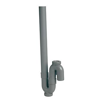 Siphon simple MAL sortie orientable verticale Nicoll