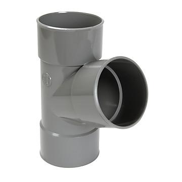Embranchement PVC simple FF PVC à 67°30 NICOLL