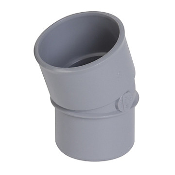 Coude PVC simple MF PVC à 20° NICOLL