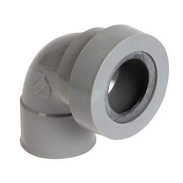 COUDE PVC A JOINT FF PVC A 87°30 POUR SORTIE D'APPAREIL SANITAIRE Nicoll