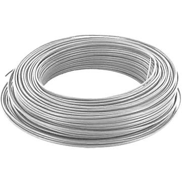 Câble HO5VV-F U500V blanc en couronne de 50 ml