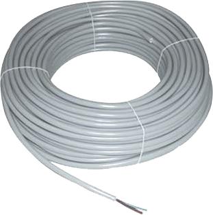 Câble HO5VV-F U500V gris