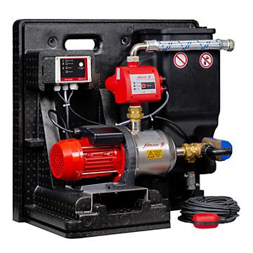 Système récupérateur d'eau de pluie Récupéo pompe Springson 204 +réservoir 11 L + automatisme PAC01 + coffret RCB Salmson