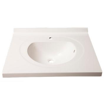 Plan vasque prismalite Atlantic - Simple vasque STRATUS