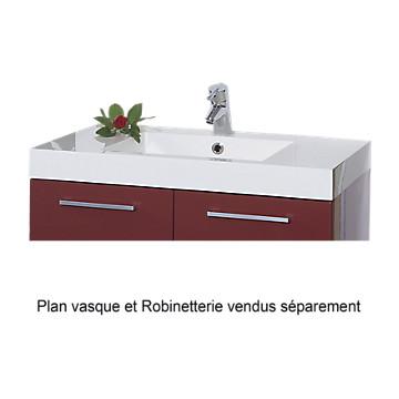 Plan de toilette Duna de 80 cm - Prismalite 1 vasque MB Expert