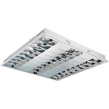 Luminaire encastré 600x600 pour tubes fluorescents T5 Havells Sylvania