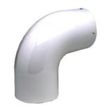 Coude Sanpli à 90° émaillé blanc