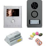 Kit portier vidéo couleur Note + 1 caméra de surveillance offerte