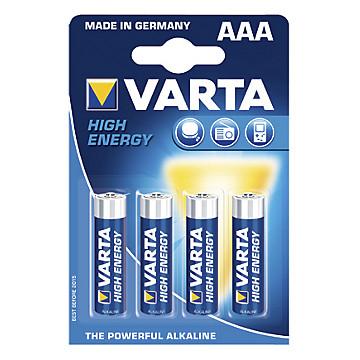 Pile alcaline LR03 Varta