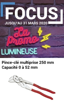 Promotion Pince clés multiprise knipex