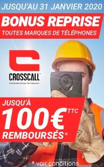 Bonus reprise Crosscall